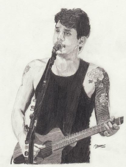 John Mayer par Meike